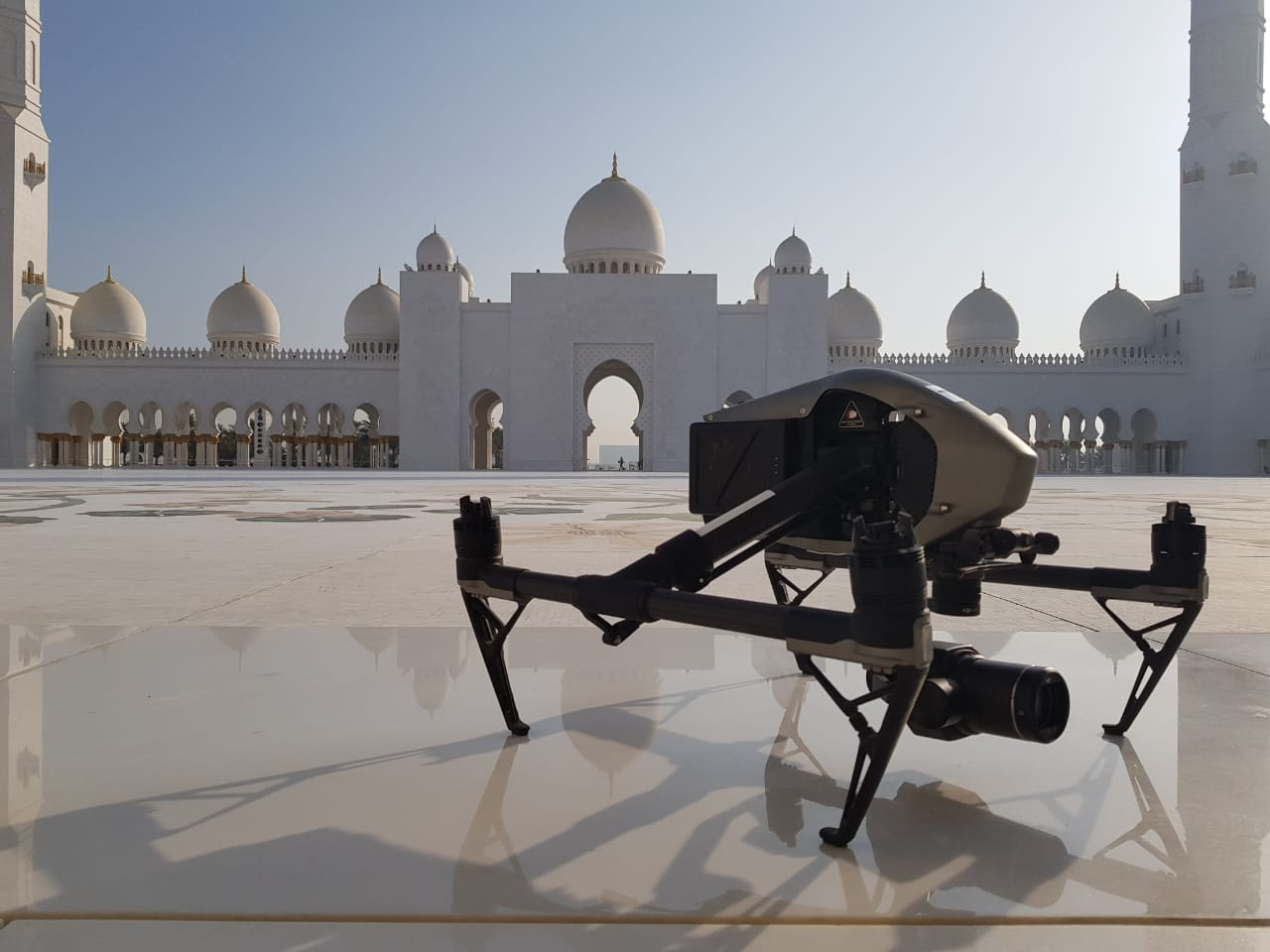 Airscope at Grand Mosque