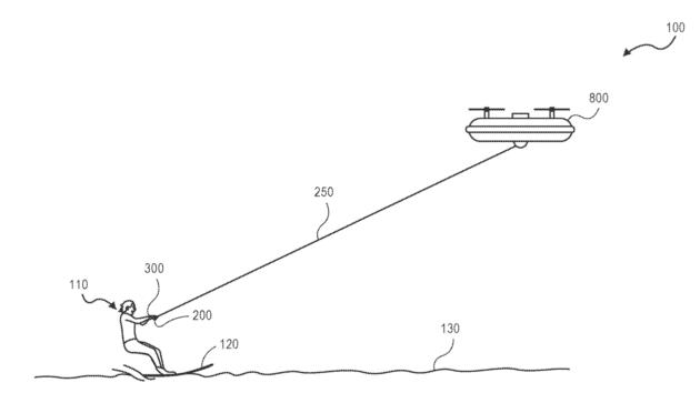 amazon ski lift drone